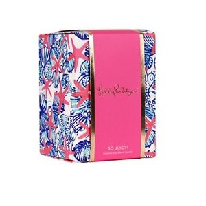 Lilly Pulitzer She She Shells Candle NWT's